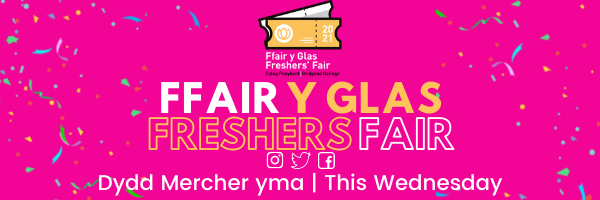 Freshers Fair this Wednesday!